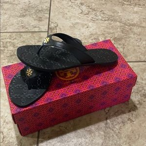 Brand new Tory Burch Thong sandals